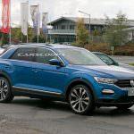 Прототип Volkswagen T-Roc R на испытаниях