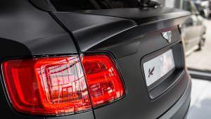 Тонированные задние фонари Bentley Bentayga Le Mans Edition
