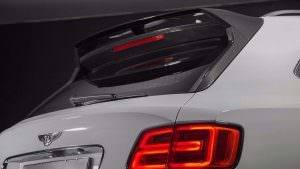 Спойлер на дверь багажника Bentley Bentayga от Carbon Pro
