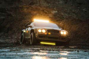 Внедорожник Bentley Continental GT от National Geographic