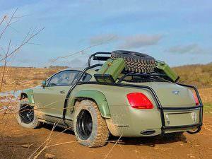 Внедорожное купе Bentley Continental GT