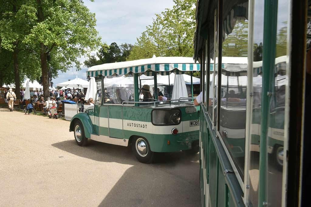 Экскурсионный автобус Volkswagen Beetle Bähnle