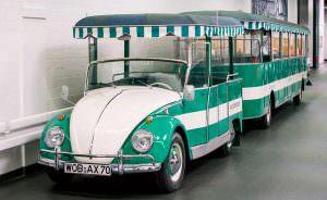 Туристический автобус Volkswagen Beetle Bähnle
