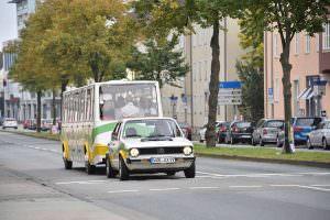 Туристический автобус Volkswagen Golf Bähnle