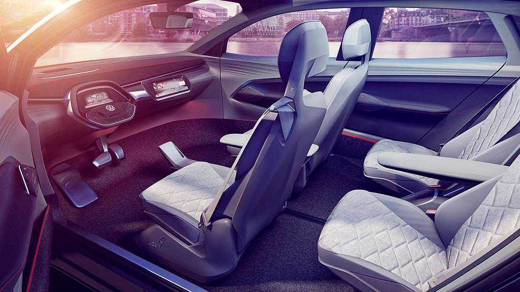 Интерьер VW I.D. Crozz II Concept