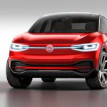 Volkswagen I.D. Crozz II Concept. IAA-2017