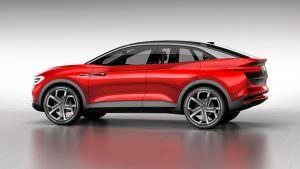 Электрический кроссовер VW I.D. Crozz II Concept