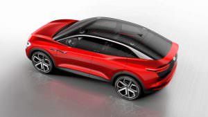 Электрический купе-кроссовер VW I.D. Crozz II Concept