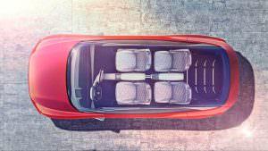 Панорамная крыша Volkswagen I.D. Crozz II Concept
