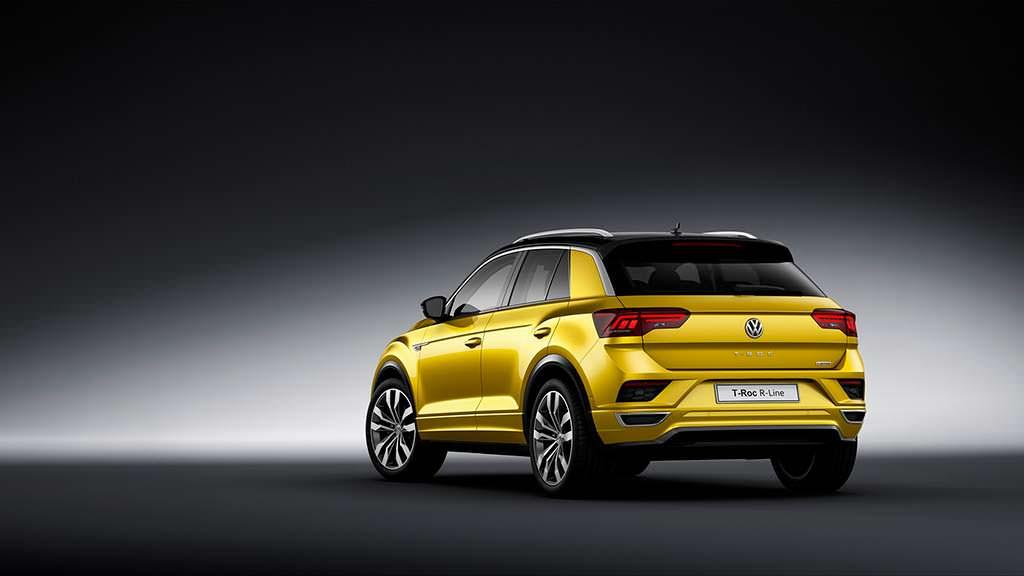 Новый кроссовер Volkswagen T-Roc R-Line