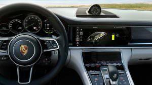 Фото салона Porsche Panamera Turbo S E-Hybrid Sport Turismo