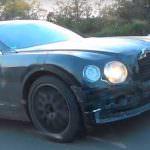 Новый Bentley Flying Spur 2019 в камуфляже