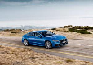 Новая Audi A7 S-Line 2019
