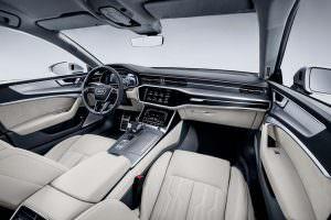 Интерьер Audi A7 нового поколения