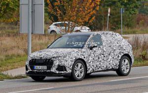 Audi Q3 второго поколения. Дорожные испытания в Европе