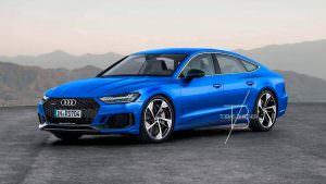 Экстремальный хэтчбек 2019 Audi RS7 Sportback, неофициально