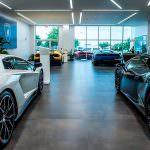 Новый шоу-рум Lamborghini в Северной Америке