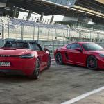 Новые Porsche 718 Cayman GTS и 718 Boxster GTS