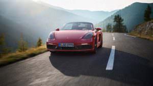 Новый Porsche 718 Boxster GTS