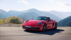 Новый родстер Porsche 718 Boxster GTS
