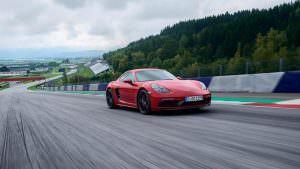 Новое купе Porsche 718 Cayman GTS