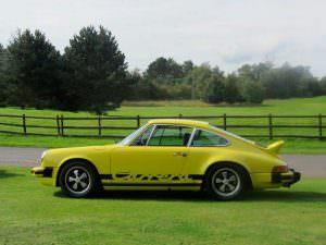 Классическая Porsche 911 Carrera 2.7 MFI 1974 года