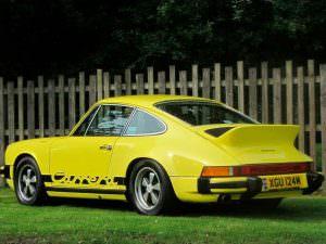 Ретро-купе Porsche 911 Carrera 2.7 MFI 1974 года