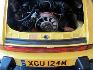 Отреставрированный двигатель Porsche 911 Carrera 2.7 MFI
