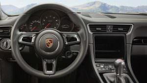 Фото салона 2018 Porsche 911 Carrera T
