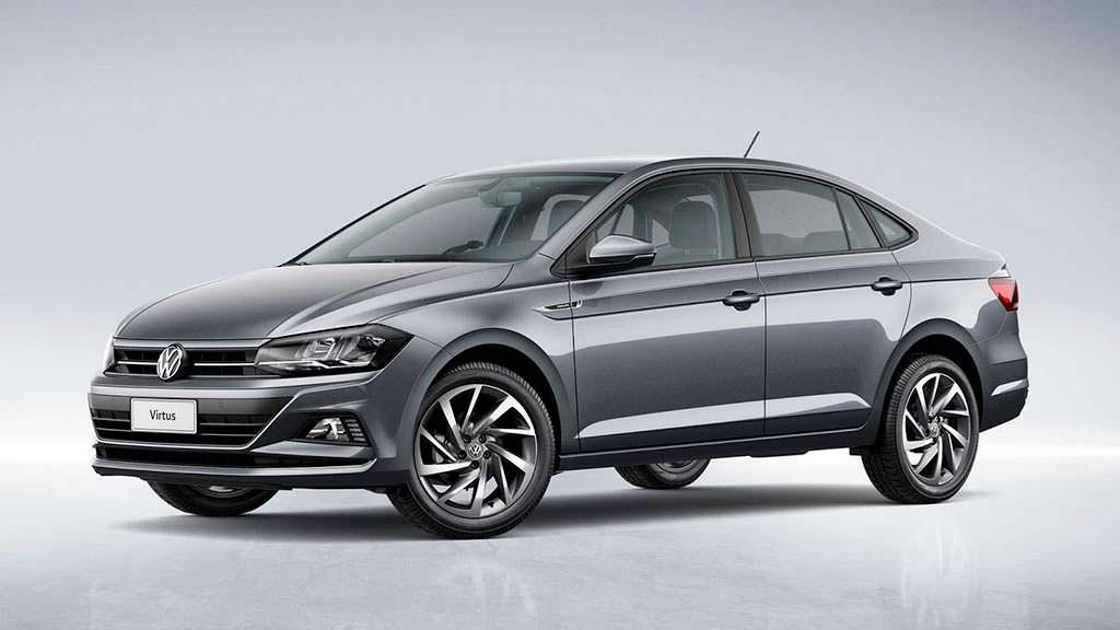 Седан Volkswagen Virtus 2018