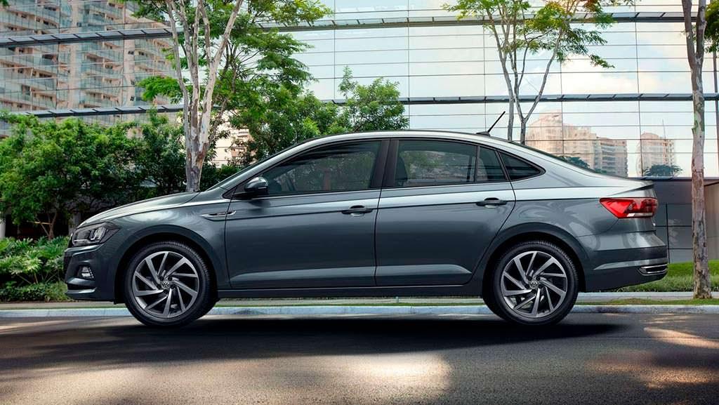 Новый Volkswagen Virtus 2018