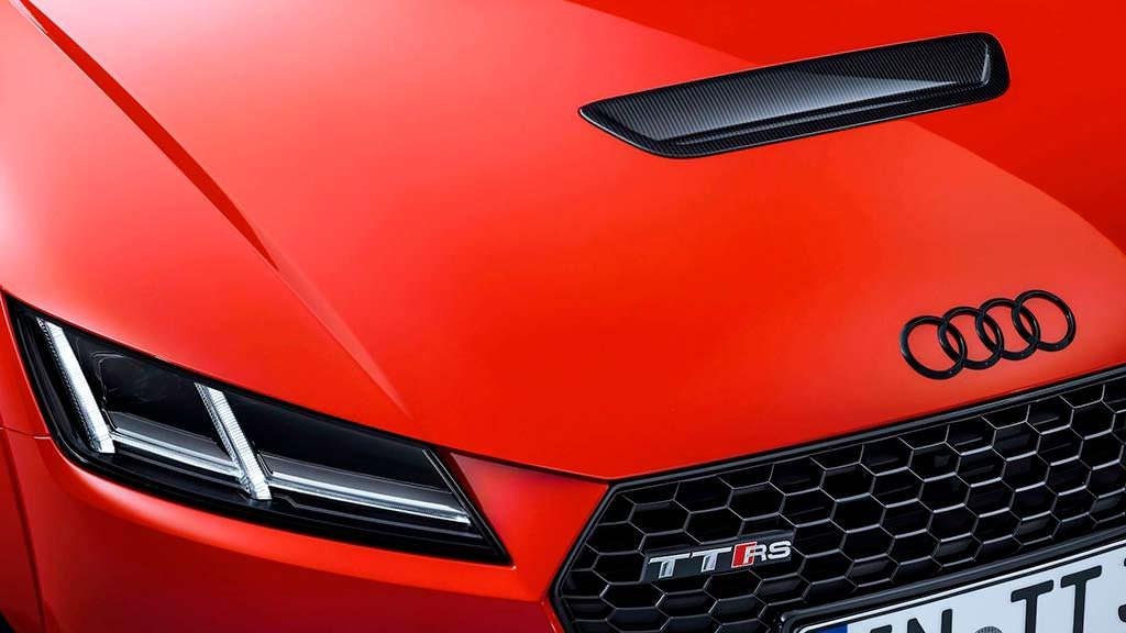 Вентилируемый капот Audi TT Clubsport Concept