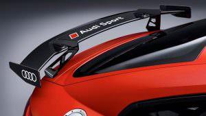 Углеродный спойлер Audi TT Clubsport Concept