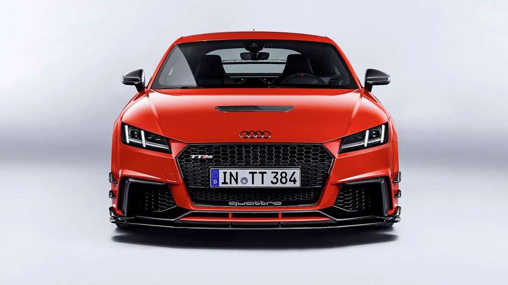 Новая Audi TT Clubsport Concept для SEMA-2017