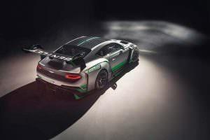 Новый гоночный Bentley Continental GT3
