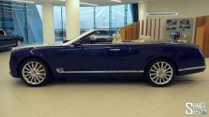 Большой кабриолет Bentley Grand Convertible