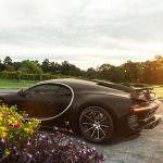Bugatti Chiron на колесах Forgiato Technica Tec 2.4