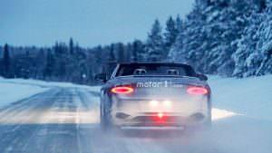 Зимние испытания 2019 Bentley Continental GTC