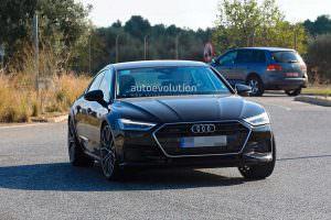 Шпионское фото Audi RS7 Sportback 2019