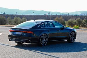 Испытания Audi RS7 Sportback 2019. Фото шпионов