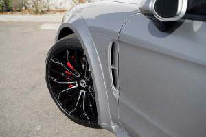 22-дюймовые колёса Forgiato Wheels на Porsche Panamera