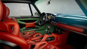 Фото салона Porsche 911 DLS от Singer