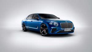 Новый седан Bentley Flying Spur по мотивам Continental GT