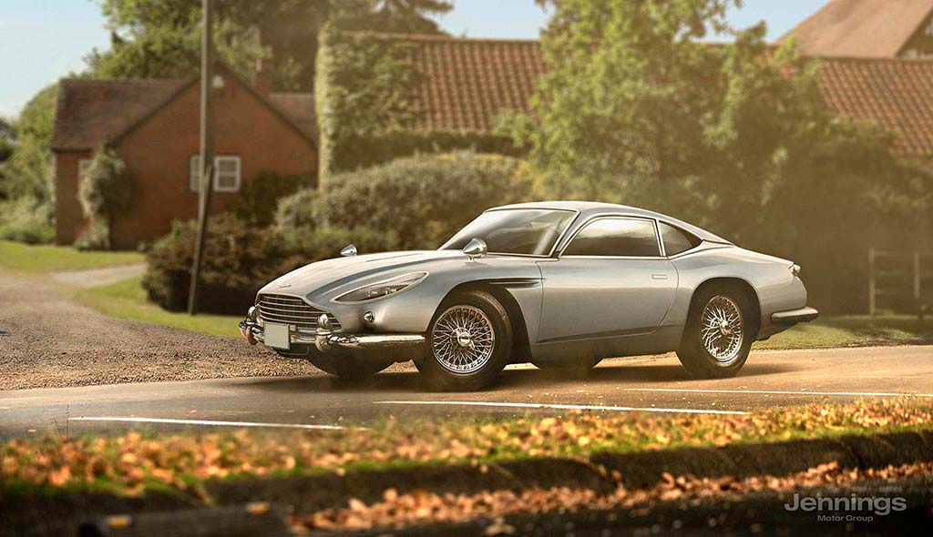 Ретро-дизайн Aston Martin DB11