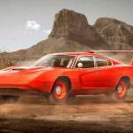 Ретро-дизайн Dodge Charger