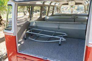 Багажник Volkswagen Microbus Deluxe 1960 года