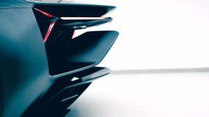 Аэродинамика Lamborghini Terzo Millennio Concept