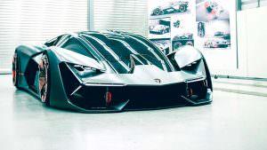 Новый суперкар Lamborghini Terzo Millennio Concept