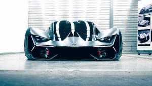 Фантастический суперкар Lamborghini Terzo Millennio Concept