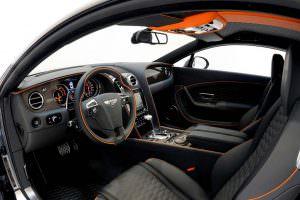 Кожаный салон Bentley Continental GT от Startech